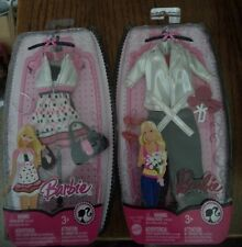 BARBIE FASHION FEVER SWEETS 2008 WHITE JACKET & DRESS  *Nu*