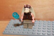 Lego Star Wars - Jar Jar Binks Figur in beige mit Elektro Shocker aus Set 7929
