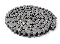 #35 Roller Bushed Chain 35-1X10FT 10 ft.