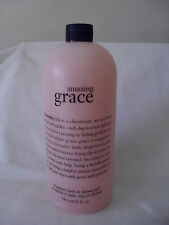 PHILOSOPHY Amazing Grace Shampoo, Bath & Shower Gel 32 oz. NEW SEALED~ NO PUMP
