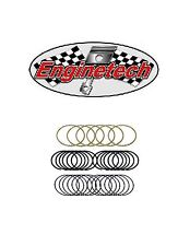 Enginetech Piston Rings 4.005 1/16 1/16 3/16 File Fit Moly Rings