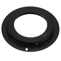 M42 Lens to Canon EOS EF Mount Adapter Ring 7D 50D 60D 500D 550D Rebel XSi T1i