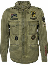 DIESEL J-AMMA MILITARY GREEN JACKET SIZE L 100% AUTHENTIC