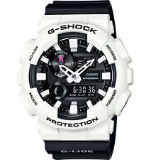 Casio G-Shock Men's G-Lide Analog Digital White & Black Watch GAX100B-7A