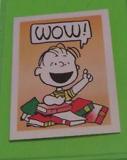 1992 WEET-BIX PEANUTS SWAP CARD SERIES CARD #3 FROM AUSTRALIA LINUS VAN PELT