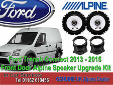 Ford Transit Connect 2013-2015 Alpine PORTA ANTERIORE ALTOPARLANTE COASSIALI Upgrade