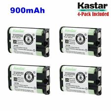 4xKastar Cordless Phone Battery NI-MH 3.6V 900mAh For Panasonic HHR-P107 Type 35