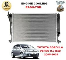 FOR TOYOTA COROLLA VERSO MPV 2.2 D4D 2005-2009 ENGINE COOLING RADIATOR
