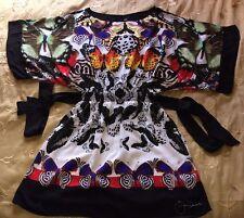 DESIGUAL tunique Ou robe Avec papillons Taille 42