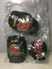Star Wars Darth Maul Bike Elbow Knee Pads Gloves Skating Kids Protective Gear