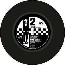 "Ska Two Tone Printed Exterior Vinyl 7"" 178mm Decals Madness x 2 Rude Boy Culture"