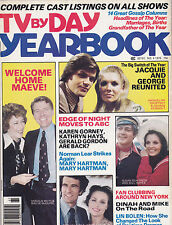 1976 TV BY DAY YEARBOOK ANNUAL soap opera magazine