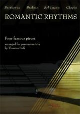 Romantic Rhythms Four Pieces For Percussion Trio Learn to Play Music Book