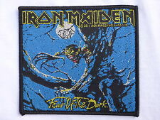 ECUSSON PATCH THERMOCOLLANT aufnaher toppa IRON MAIDEN heavy métal hard rock