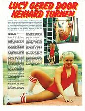 CHARLENE TILTON 'Lucy from Dallas' magazine PHOTO/Poster/clipping 11x8 inches