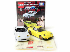 Takara Tomy Tomica Car Initial D Takahashi Brothers Set MAZDA FC3S RX-7