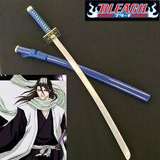 Bleach Kuchiki Byakuya Samurai Zanpakuto Sword/Katana W/Single Sword Stand