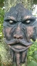 Realistische aus Holz geschnitzt Garten Baum Gesicht Mystisch Baum-dekoration