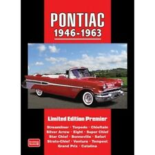 Pontiac 1946-1963 Limited Edition Premier book paper