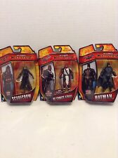 "DC Comics BATMAN Multiverse 4"" Arkham Origins Action Figure Lot Batman, Azrael"