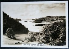OBAN   Scottish Coastal Scene   Vintage Photocard  # EXC