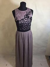 New Little Mistress /asos Mink Ladies Party Prom Bridesmaid Embellished Dress UK