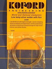 Koford M444 Low Temp Silver Solder w/ Flux Core 1/24 Slot Car from Mid America
