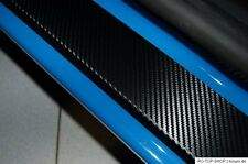 Carbon Style door sill protectors Honda Jazz MK4 Carbon Film
