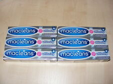 6 x MACLEANS WHITENING TOOTHPASTE VISIBLY WHITER TEETH & ENAMEL PROTECTION 100ML