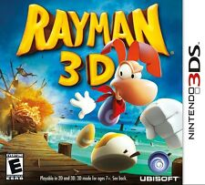 Rayman 3D - Nintendo 3DS Game
