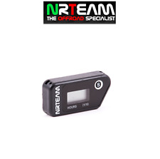 NRTEAM CONTAORE WIRELESS CROSS ENDURO VIBRAZIONE VIBRATION HOUR MOTO NERO