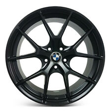 "4 x BMW Multi Spoke 18"" 5x120 Staggered Alloy Sport Rims Wheels Mags ET15/20"