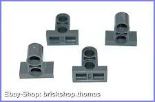 Lego Technic 4 x Verbinder Arme mit Platte - 32530 - Dark Bluish Gray - NEU/NEW