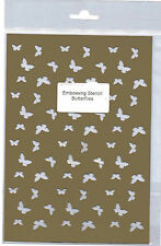 Plastic/PVC/Embossing/Stencil/Butterfly/Butterflies/Background/484.247.006