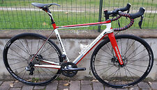 Bici corsa Saccarelli Speed Shimano Ultegra Di2 6870 R785 disc brake road bike