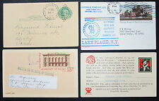 Us postal Stationery set of 4 Illustrated Covers Letters GS estados unidos cartas (h-8358