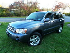 2006 Toyota Highlander HYBRID 4WD 4X4! CLEAN CARFAX! NO ACCIDENTS!