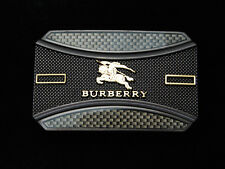 QD09141 REALLY COOL **BURBERRY** FASHION LABEL COMMEMORATIVE BELT BUCKLE