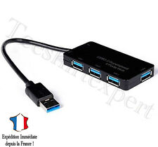HUB USB 3.0 Superspeed - 4 ports USB multiport - Neuf Adaptateur pc portable