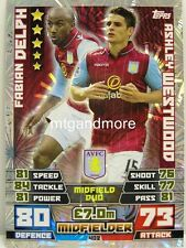 Match Attax 2014/15 Premier League - #402 Delph / Westwood - Duo