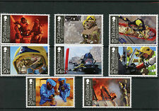 Gibraltar 2015 MNH Fire & Rescue Service 150th Anniv 8v Set Fireman Stamps