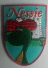 Nessie Loch Ness Monster Scotland Embroidered sew/iron on Patch