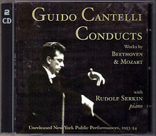 Guido Cantelli Rudolf Serkin Unreleased 1953/1954 Beethoven Mozart Gabrieli 2cd