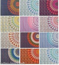 10 Double Mandala Tapestry Wall Hanging Throw Cotton Bedding Bedspread Wholesale