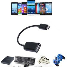USB OTG sx Adapter Cable Cord For Samsung Galaxy S4 SGH-i337 m GT-i9500 Phone