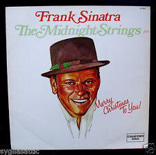 FRANK SINATRA-MIDNIGHT STRINGS-MERRY CHRISTMAS TO YOU Album-COLLECTORS GOLD #597