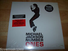 RARE Michael Jackson COLLECTOR'S EDITION Number Ones BRAND NEW CD 8x8 SEALED SS