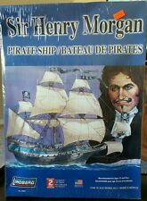 Sealed Lindberg Sir Henry Morgan Pirate Ship Plastic 1/160 Model Kit #70859 2006