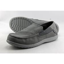 Crocs Santa Cruz 2 Men US 12 Gray Loafer Pre Owned  1803