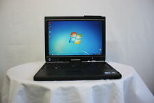 "Laptop Tablet Dell Latitude XT2 Touch 12.1"" Core Duo 2GB 250GB Windows 7 GRADE A"